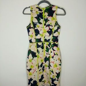 J.Crew Fitted Foral Party Dress Size 00